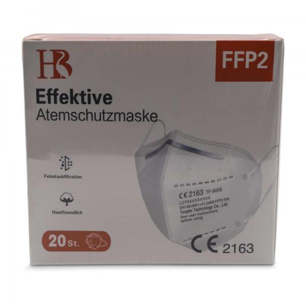 Tengfei TF 9006 FFP2 Maske Box Vorderseite FFP2 Maske