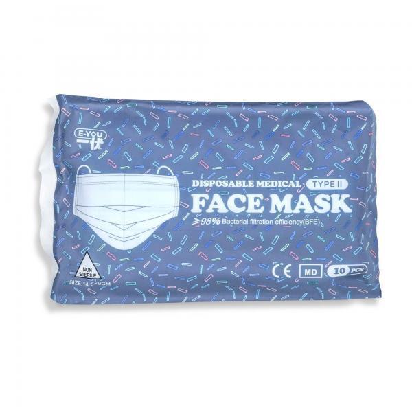 Kinder OP Maske Typ II Beutel Kinder Mund-Nasen Maske