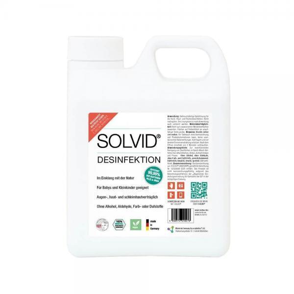 Kanister mit SOLVID Händedesinfektionsmittel