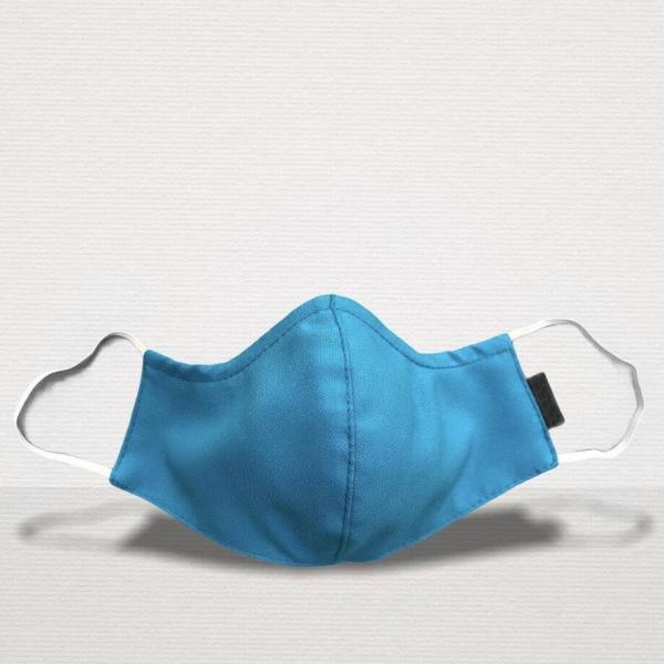 Gesichtsmaske Premium Blue Front stoffmaske