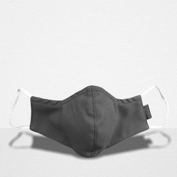 Stoffmaske Premium Grey FrontRear stoffmaske