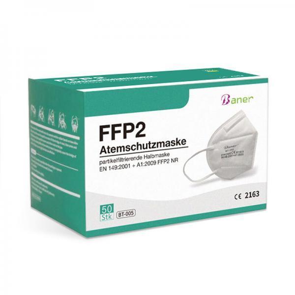 50er Box der Baner FFP2 Atemschutzmaske CE 2163