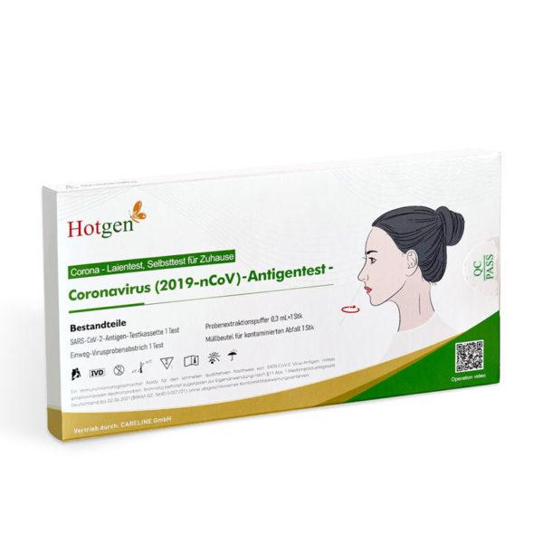 Box des Hotgen Covid-19 Antigen Test