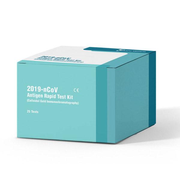 Lepu Medical Covid 19 Antigen Schnelltest Box HMS24 antigen schnelltest